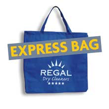 Regal Dry Cleaners express-bag Express Club Membership